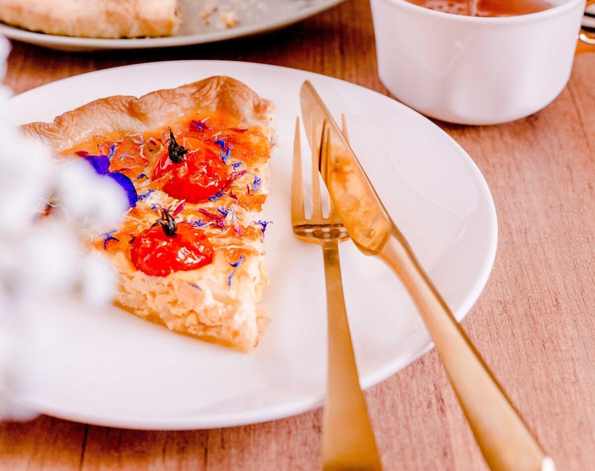 Recept: Quiche met venkel, panko en oude kaas