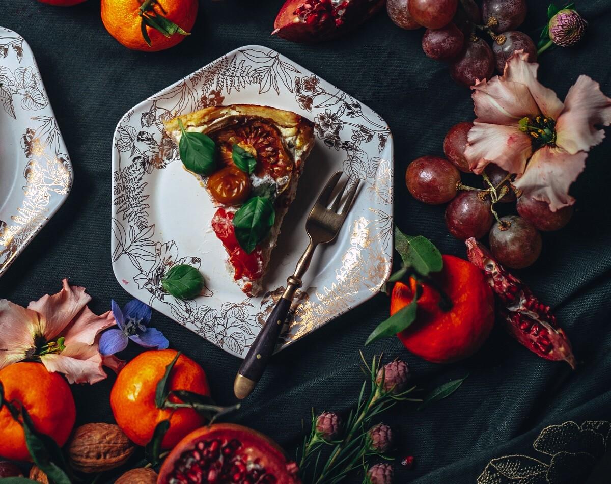 Recept: Tomatenquiche met ricotta & gruyère