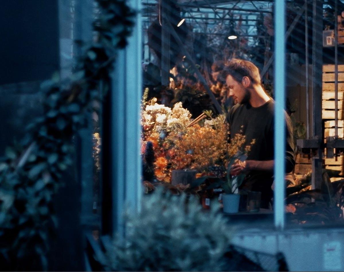 Alexander Posthuma, de bloemenkunstenaar
