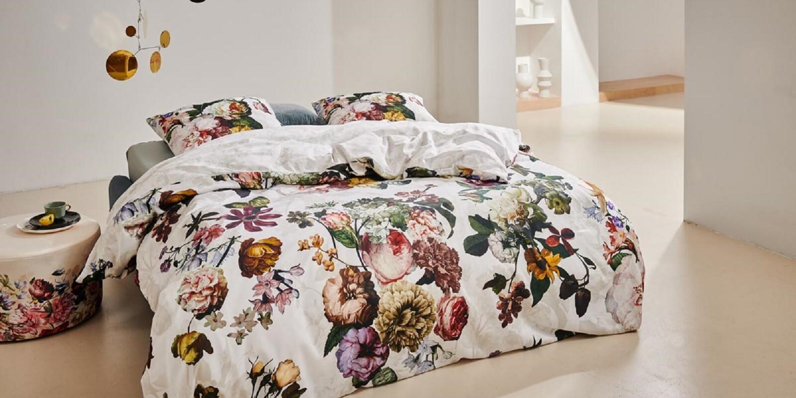 ESSENZA Fleur Wit Dekbedovertrekset 240 x 220 cm