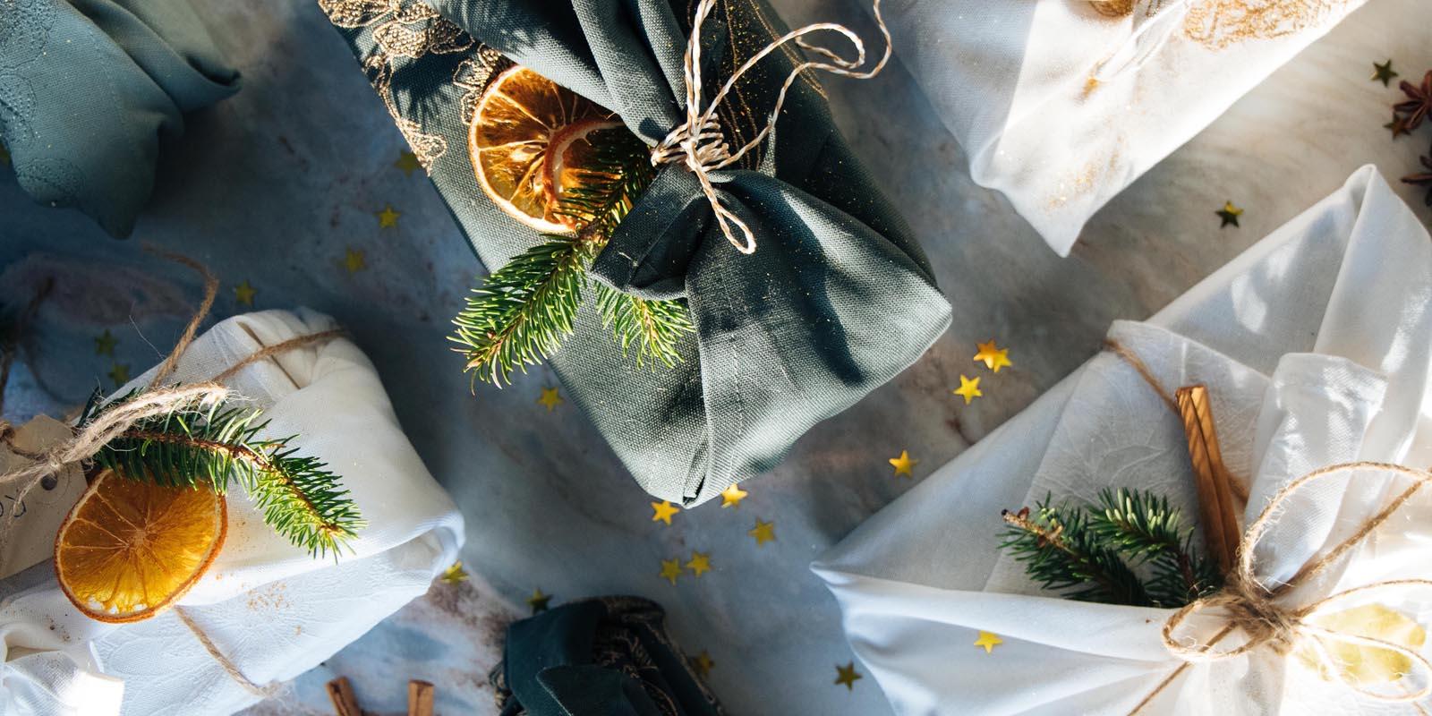 Furoshiki DIY: Cadeaus duurzaam inpakken