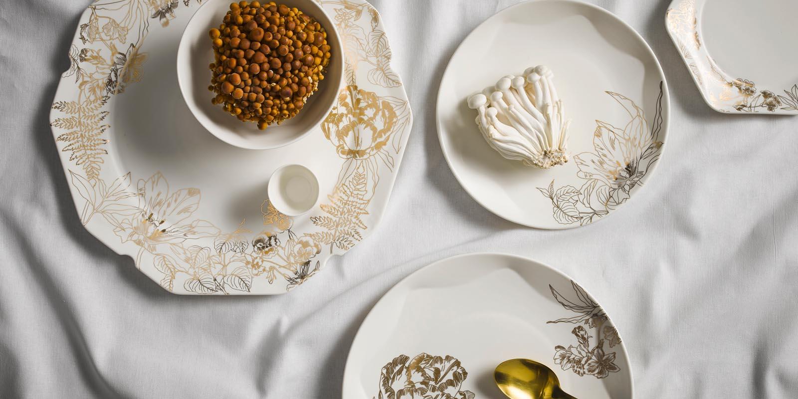 Masterpiece Servies Off White
