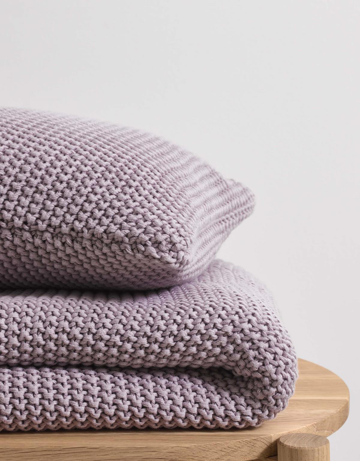 Marc O'Polo Nordic Knit Accessoires in Lavendelpaars