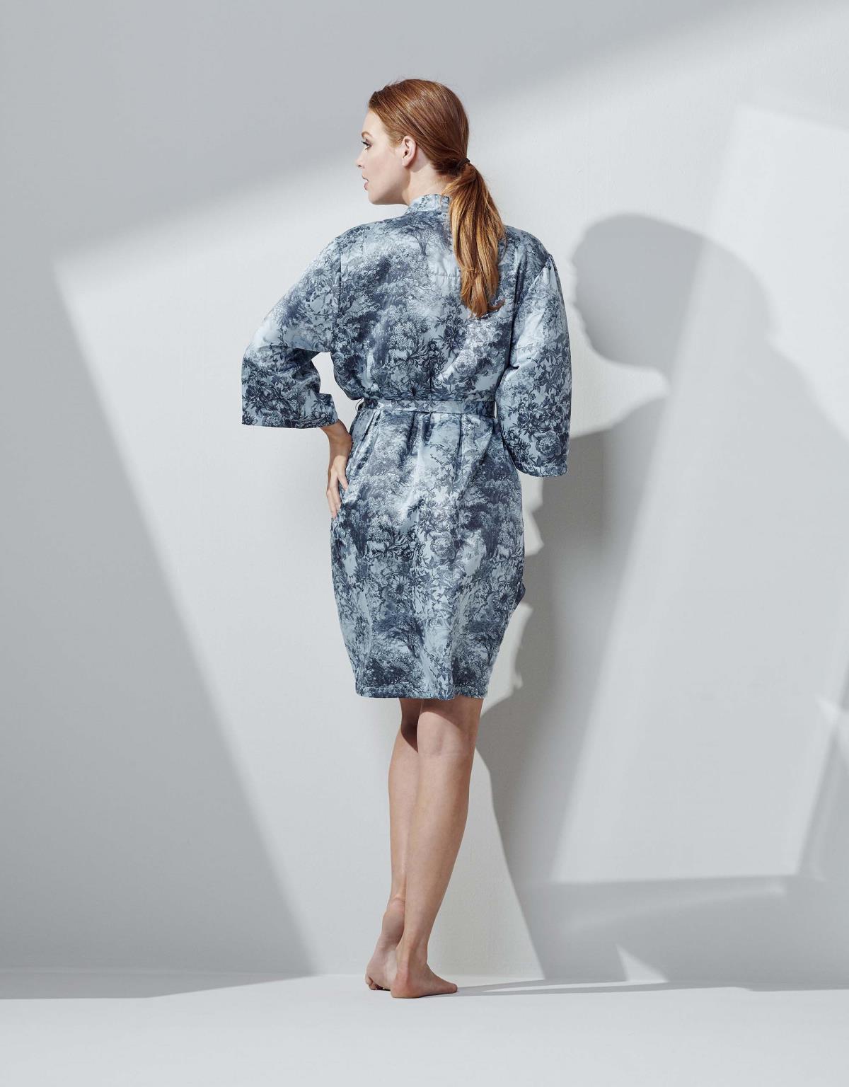 ESSENZA Sarai Aurelie Ijsblauw Kimono M
